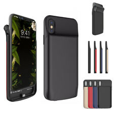 For iPhone X XS External Battery Charger Power Bank Charging Case Cover 3600 mAh