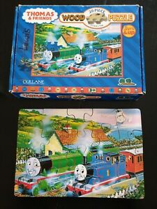 Thomas And Friends 20 Piece Wooden Jigsaw Puzzle Treetoys Tank Engine