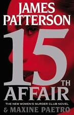 15th Affair James Patterson/Maxine Paetro Women's Club 2016 HC 1st ed/1st print