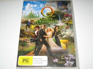 OZ THE GREAT AND POWERFUL DVD R4 NEW/SEALED