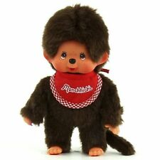 Monchhichi Classic Red Boy Plush #255010 - Brand New! Toy, Soft, Monkey