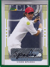 2013 ACE AUTHENTIC VINCE SPADEA #01/10 BA-VS2  AUTOGRAPH AUTO