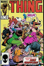 """MARVEL """"THE THING"""" COMIC BOOK VOLUME 1 NUMBER 33 MARCH 1986"""