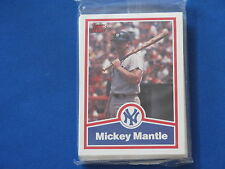 1991 Impel Mickey Mantle 20 Card Set New Sealed B5572