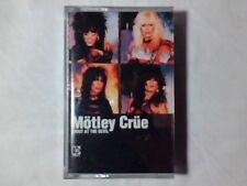 MOTLEY CRUE Shout at the devil mc cassette k7 GERMANY