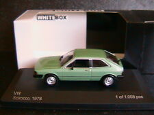 VW SCIROCCO MKI GT METAL GREEN 1978 WHITEBOX WB031 1/43 LEFT HAND DRIVE LHD
