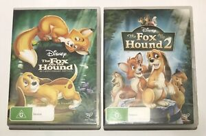 The Fox And The Hound - Fox And The Hound 2 - 2 DVD - Region 4