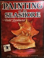 Painting At The Seashore By Violet Parkhurat Paperback