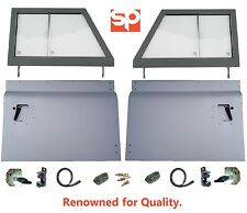 LAND ROVER DEFENDER 90 110 SERIES STYLE 2 PIECE FRONT DOOR TOPS AND BOTTOMS KIT