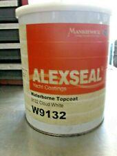 Alexseal Marine Paint Waterborne Topcoat, 9132 Cloud White, Gallon