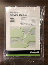 "Kawasaki Kxâ""¢85 & Kxâ""¢100 Service Manual - Fits 2014 - 2020 - Genuine Kawasaki (Fits: Kawasaki)"