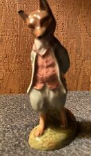 Royal Doulton Beatrix Potter's Foxy Whiskered Gentleman Figurine