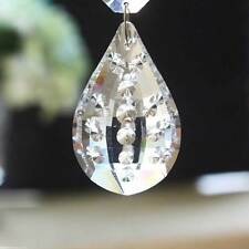 50mm Pipa-like Crystal Glass Chandelier Lamp Lighting Prisms Hanging Pendants