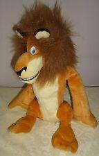 """Dream Works  Madagascar Lion ALEX 13"""" stuffed plush"""