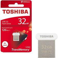 TOSHIBA U364 USB Flash Drive 32 GB USB 3.0 New 120MB/s HIGH SPEED USB SMALL NANO