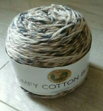 Lion Brand Comfy Cotton Blend Yarn Cool Night 023032023205