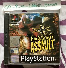 WCW Backstage Assault (COMPLETE) Sony PlayStation 1 PS1 NEW SEALED