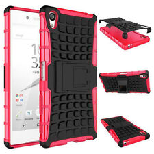 Heavy Duty Shock Proof Stand Cover Military Builders Tough Hard Case SONY NOKIA