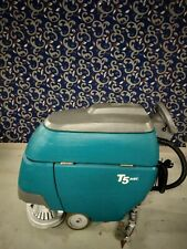 Tennant T5 24 Floor Scrubber With New Batteries And Free Shipping