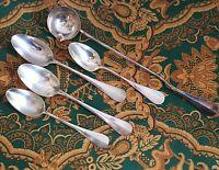 COUVERTS EN MÉTAL ARGENTÉ ALFÉNIDE ERCUIS/ Silver plated spoons and ladle