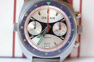 POLJOT Sturmanskie Chronograph, 3133 USSR Russian watch Ocean