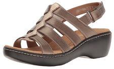 New Clarks Collection DELANA MALOREN Women Leather Sandals Size 10