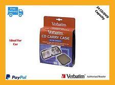 ($0 P & H) Verbatim Quality CD DVD Car Carry Case 24 capacity  p/n 41844