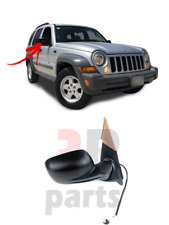 FOR JEEP CHEROKEE LIBERTY 2001 - 2008 NEW WING MIRROR BLACK 3 PIN RIGHT O/S LHD
