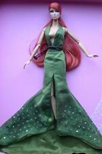 """12"""" Fashion Royalty~Veronique Sheer Goddess Olive Green Gown Set~Fit Silkstone"""