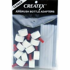 CREATEX COLORS 570112 AIRBRUSH BOTTLE ADAPTER12 PACK