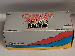 Rusty Wallace Miller Racing 1:24 Scale Stock Car In Box