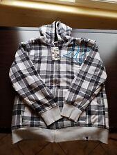 mens hurley hoodie xl grey brand new