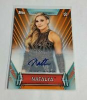 R32,145 - NATALYA - 2019 TOPPS WWE WOMENS DIVISION - AUTOGRAPH - #/50