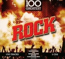 100 GREATEST ROCK SOFTPAK ( Jethro Tull, The Monkees, The Byrds uvm,) 5 CD NEUF