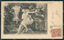 Rome City Academy San Luca Veronese Postcard xb5447