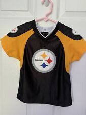 TODDLER PITTSBURGH STEELERS 2T JERSEY SHIRT NFL TEAM APPAREL SUPERB CONDITION