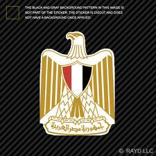 Egyptian Coat of Arms Sticker Decal Self Adhesive Vinyl Egypt flag EGY EG