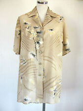 ELENA MIRO' Collection TG 39 (48) SIZE XL  VISCOSA E LINO LINEN EXCELLENT