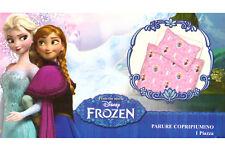 Parure Copripiumino Letto Singolo 1 Piazza Frozen Rosa 100% PoliCotone