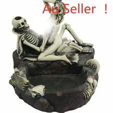 14cm Skull Ashtray Ornament Statue Figurine Sculpture Home Display Decor