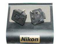 Genuine Nikon 3-Pin UK PLUG for Battery Charger MH-24 MH-27 MH-29 EH-71P EH-69