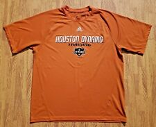 Houston Dynamo Training Adidas Orange Athletic MLS Shirt ~ Men's Medium M