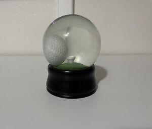 """DAD"" Golf Ball Snow Globe Man Cave Mind Game Challenge Tee Gift"