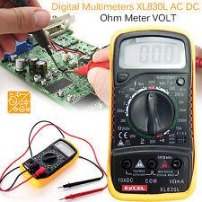Digital Multímetro Amperímetro Voltímetro Ac Dc Voltaje actual Probador De Circuitos Zumbador