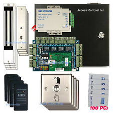 Keyless Magnetic Locks Maglock Door Entry System Smart HID Reader Access Control