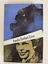 AMELIA EARHART LIVES BY Joe Klaas 1st Edition Hardback Book