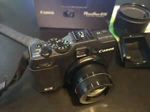 Canon PowerShot G15 12.1MP Digital Camera - Black