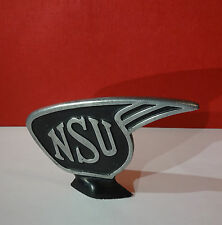 Original alte NSU Schutzblechfigur Emblem Version 4
