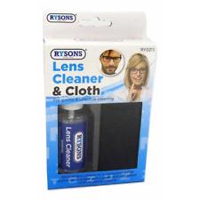 30ml Lens Spray Cleaner & Microfiber Cloth Set Clean Optical Lenses Camera
