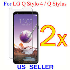 2x Clear Screen Protector Guard Cover Shield Film For LG Q Stylo 4 / Q Stylus